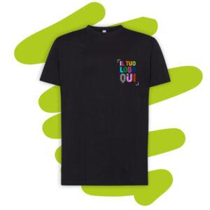 Maglietta personalizzata con stampa a colori